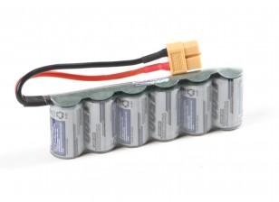 Turnigy Receiver Pack 2/3A 1500mAh 7.2V NiMH High Power Series