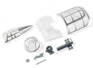 H-King Micro B-25J Mitchell - Plastic Parts Set