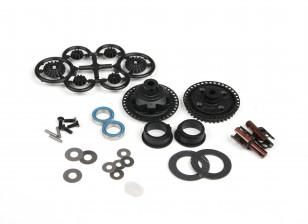 Blaze 1/10 Spare Parts - Optional Gear Differential Set (Plastic Gear S2 Cup 3.6) 121114