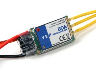 Dipartimento Funzione Pubblica YEP 80A (2 ~ 6S) SBEC Brushless Speed ​​Controller