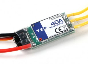 Dipartimento Funzione Pubblica YEP 40A (2 ~ 6S) SBEC Brushless Speed Controller