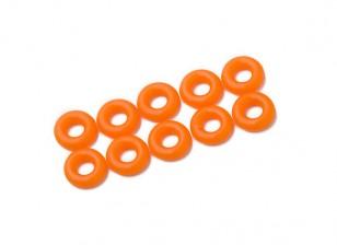 2 in 1 kit di O-ring (neon arancione) -10pcs / bag