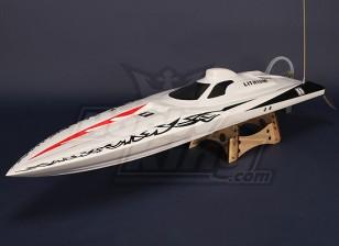 Osprey Brushless V-Hull R / C barca (1.075 millimetri) Hull w / Motore & Hardware