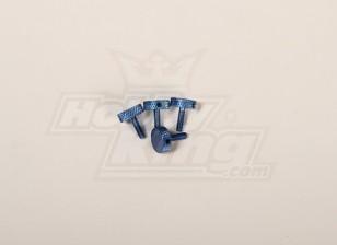 Canopy pollice Vite blu per tutti 30-90 baldacchino (4 pezzi)