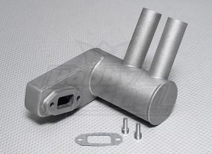 Pitts Silenziatore per 50cc ~ motore a gas 56cc