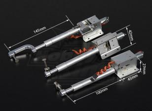 Turnigy Full Metal Servoless Ritrarre con 100 mm Oleo gambe (Triciclo) 1.20 classe