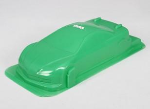 1/10 CR-6R Shell Corpo w / Stickers (verde)