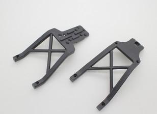 Anteriore e posteriore del telaio di supporto Travi - A2032