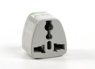 Dipartimento Funzione Pubblica TXW004 Fused 13 Amp alimentazione di rete multi-adattatore Grey (India Plug)