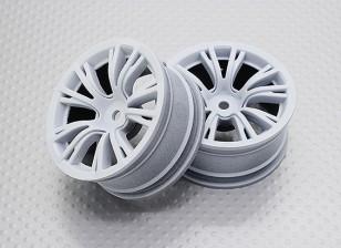 Scala 1:10 di alta qualità Touring / Drift Wheels RC 12 millimetri Hex (2pc) CR-BRW