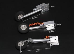 Turnigy Full Metal Servoless ritrae con i piedini Oleo (Triciclo, tipo F86)