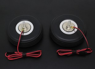 "Turnigy elettrico freno magnetico 72 millimetri System (2.75 "") ruota (2pc)"