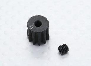 11T / 3,17 millimetri 32 Pitch acciaio temperato pignone