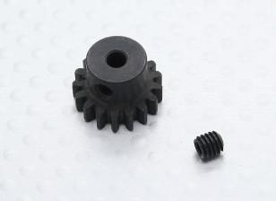 17T / 3,17 millimetri 32 Pitch acciaio temperato pignone