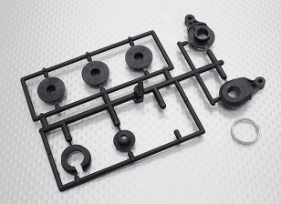 Servo Saver Set - 1/10 Dipartimento Funzione Mission-D 4WD GTR Drift Car