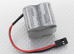 Turnigy Receiver Pack 2 / 3A 1500mAh 4.8V NiMH Serie ad alta potenza
