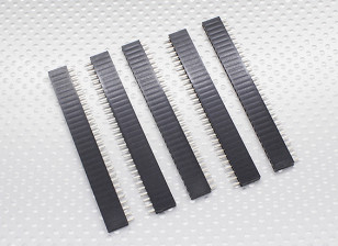 1x30P Pin Socket - passo 2,54 mm (5pcs / bag)