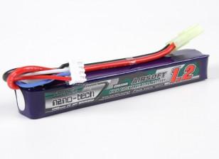 Turnigy nano-tech 1200mAh 3S 25-50C Lipo AIRSOFT Confezione