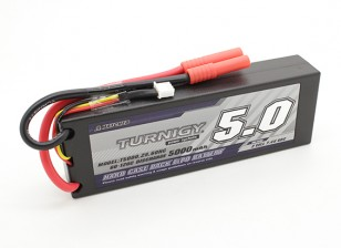 Turnigy 5000mAh 2S 7.4V 60C Hardcase Confezione