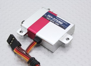 Turnigy ™ TGY-225mg Slim Ala HV / DS / MG Servo w / involucro in lega di 6.5kg / 0.08sec / 28g