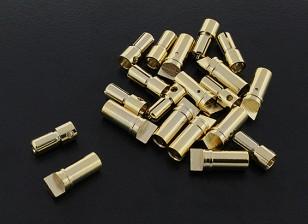 Oro da 3,5 mm compatto connettore (10pairs)