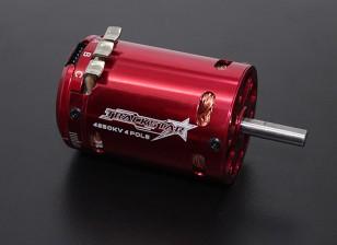 Trackstar 540 formato 4 poli 4250KV Sensored motore