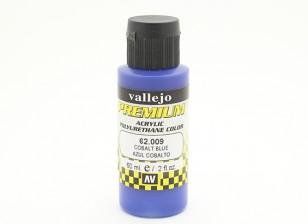 Vallejo Premium colore vernice acrilica - Cobalt Blue (60ml)