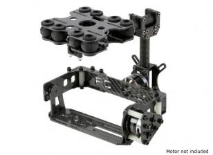 Assorbendo Kit Shock 2 Asse Brushless Gimbal per Tipo di carta di telecamere - Versione in fibra di carbonio