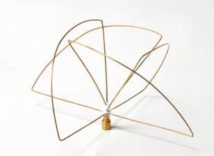 900Mhz circolare polarizzata antenna del ricevitore (SMA) (LHCP) (Short)