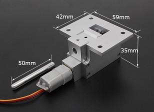 All Metal Servoless 90 gradi Ritrarre per i modelli di grandi dimensioni (6 kg) w / 6mm Pin