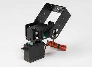 Kit Heavy Duty Pan e Tilt di base con 160deg Servi Robotic arto o l'antenna di monitoraggio (Long Arm)