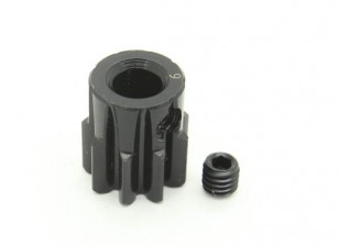 9T / 5mm M1 acciaio temperato pignone (1pc)