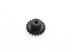 17T / 3,175 millimetri M1 acciaio temperato pignone (1pc)