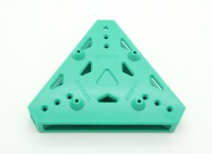 RotorBits Tri-Copter piastra di montaggio (verde)