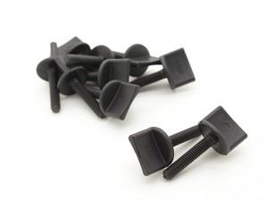 Nylon Thumbscrew Ala Bolt M4x20 (10pcs)