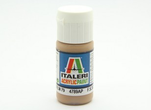 Italeri vernice acrilica - Sandgelb RLM 79