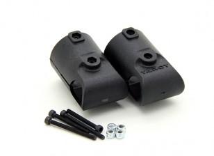 Tarocchi T810 e T960 25mm a 16 millimetri Kit carrello di atterraggio T Adaptor (2 pezzi)