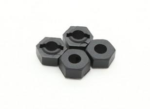 Mozzo della ruota (4 pezzi) - Basher 1/16 Mini Nitro Circus MT