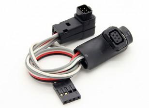 FrSky Telemetria & Track Module capo Estensione cavo per 9XR Pro