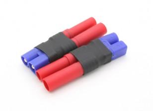EC3 a HXT4mm adattatore batteria (2pcs / bag)