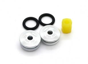 Tarocchi 550/600/700 metallo Canopy Nut Set (TL8027)