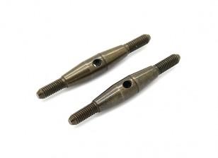 Trackstar 1/10 molla in acciaio Turnbuckle M3x35 (2 pezzi)