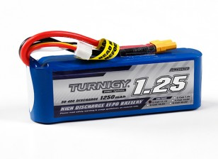 Turnigy 1250mAh 3S 30C Lipo Pack (Long)