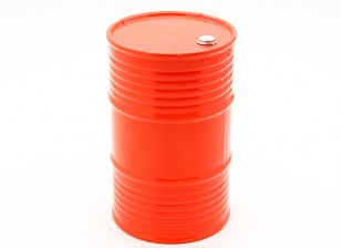 1/10 Scala 45 Gallon Oil Drum - Arancione
