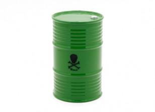 1/10 Scala 45 Gallon Oil Drum - Verde