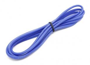 Turnigy alta qualità 16AWG silicone Filo 1m (Blu)