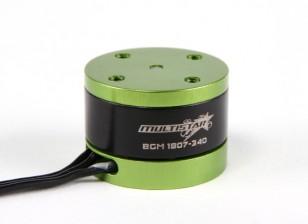 Motore del giunto cardanico Multistar 1807-340Kv Brushless per la macchina fotografica Mobius
