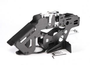 Assalto 450DFC Cintura Flybarless 3D Elicottero di carbonio e complessivo telaio di metallo principale