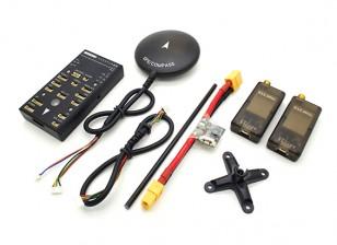 Veicolo autonomo HKPilot32 32Bit Control Set con telemetria ed il GPS (915Mhz)