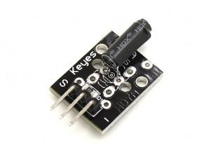 Modulo sensore di vibrazione Keyes KY-002 per Arduino